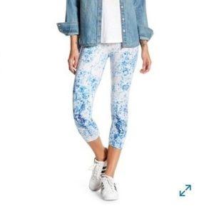 Lysse Mineral leggings Hi-Waist Pull On Pants Blue